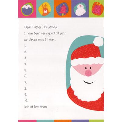 画像1: クリスマスカード:Father Christmas Letter Set【ネコポス配送可】 (1)
